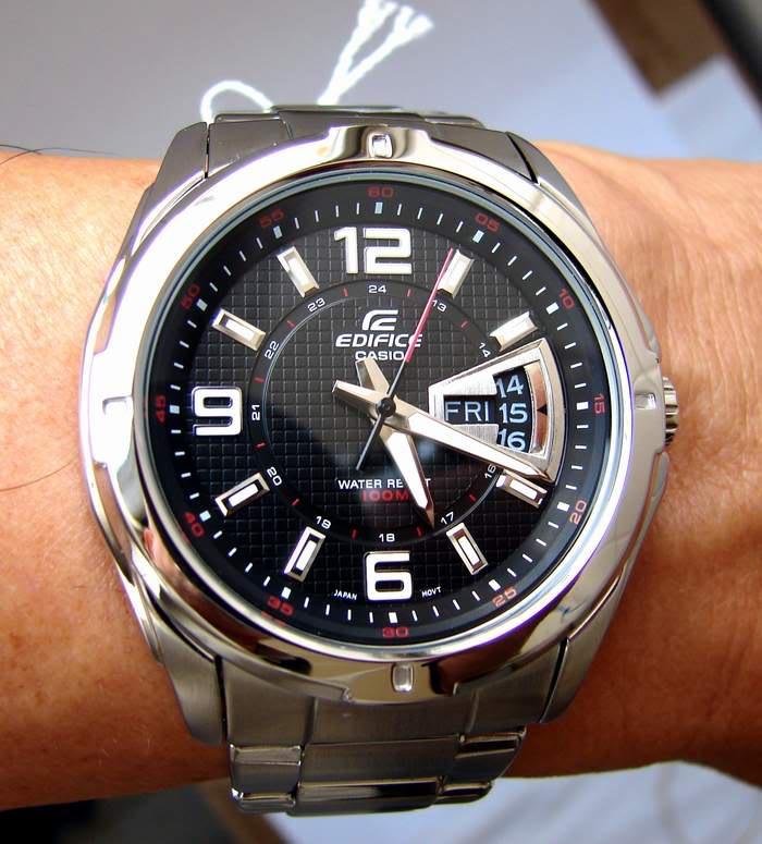 Часы casio edifice efd-2a стрелочные кварцевые часы (механические на батарейке).