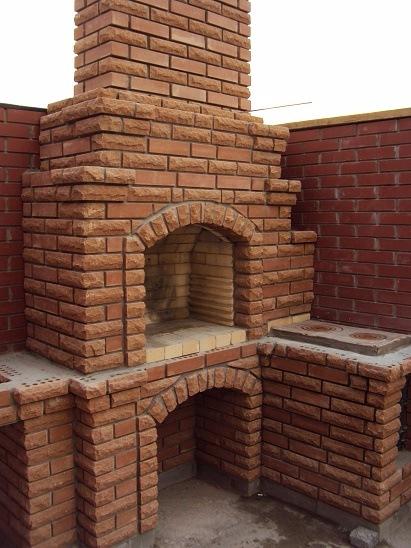 Строительство каминов- печей- барбекю